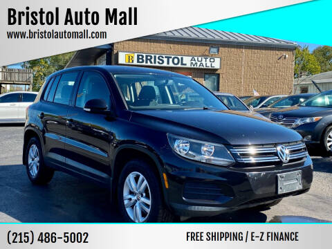 2013 Volkswagen Tiguan for sale at Bristol Auto Mall in Levittown PA