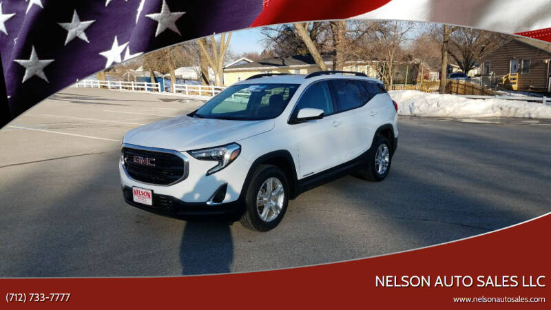 2019 GMC Terrain for sale at Nelson Auto Sales LLC in Harlan IA