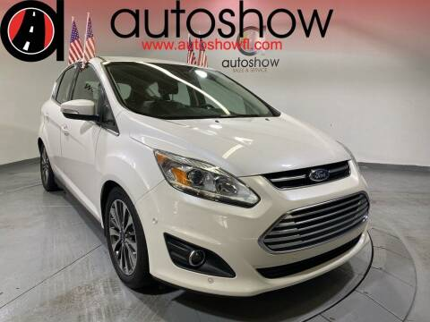 2017 Ford C-MAX Hybrid for sale at AUTOSHOW SALES & SERVICE in Plantation FL