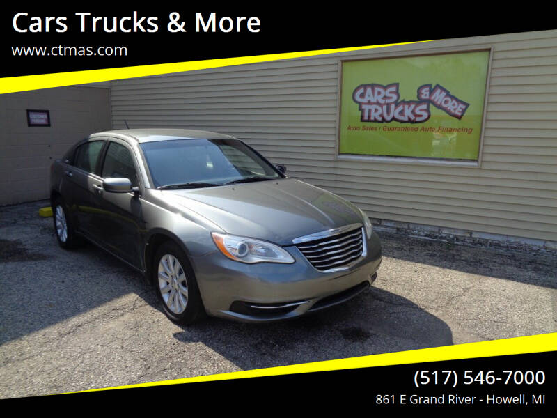 2013 Chrysler 200 for sale at Cars Trucks & More in Howell MI