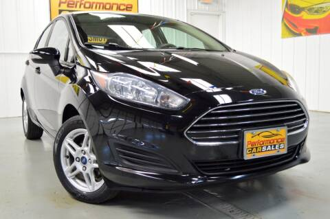2017 Ford Fiesta for sale at Performance car sales in Joliet IL