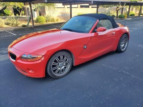 2003 BMW Z4 for sale at Autodealz in Tempe AZ