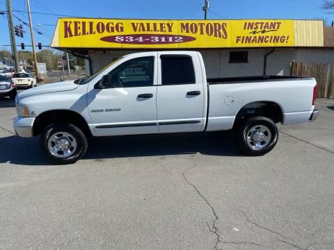 2003 Dodge Ram Pickup 2500 for sale at Kellogg Valley Motors in Gravel Ridge AR