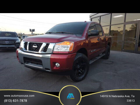 2014 Nissan Titan for sale at Automaxx in Tampa FL