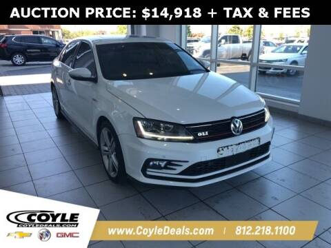 2017 Volkswagen Jetta for sale at COYLE GM - COYLE NISSAN in Clarksville IN