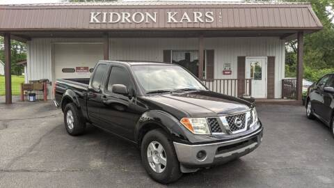 2006 Nissan Frontier for sale at Kidron Kars INC in Orrville OH