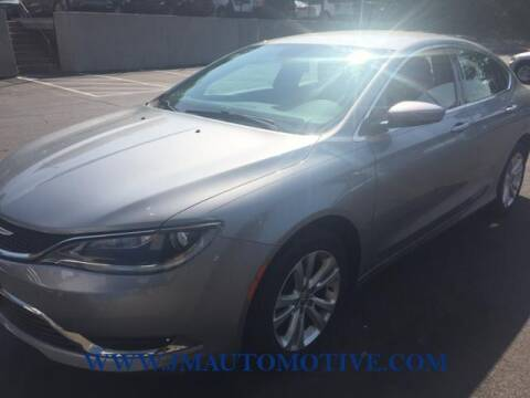 2015 Chrysler 200 for sale at J & M Automotive in Naugatuck CT