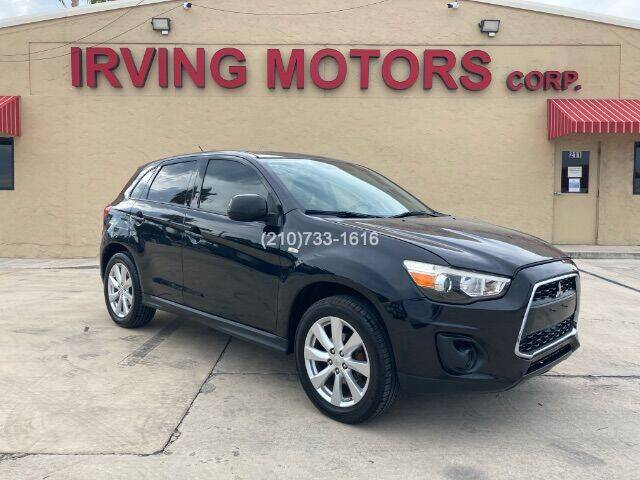 2014 Mitsubishi Outlander Sport for sale at Irving Motors Corp in San Antonio TX