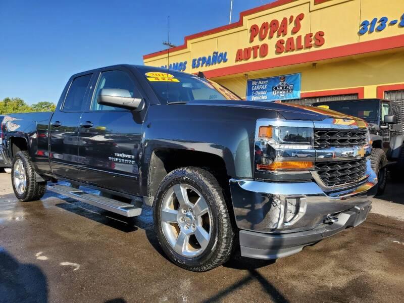 2017 Chevrolet Silverado 1500 for sale at Popas Auto Sales in Detroit MI