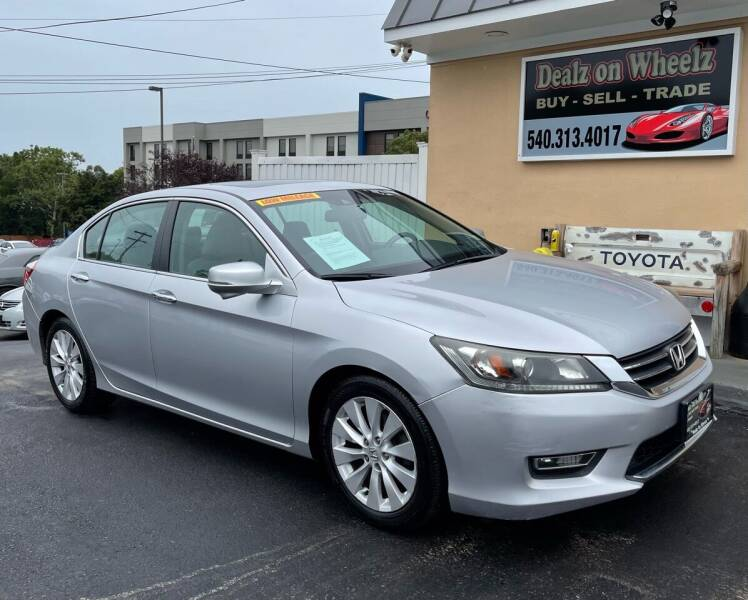 2013 Honda Accord for sale at DEALZ ON WHEELZ in Winchester VA