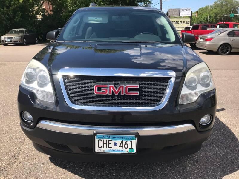 2010 GMC Acadia for sale at Motors 75 Plus in Saint Cloud MN