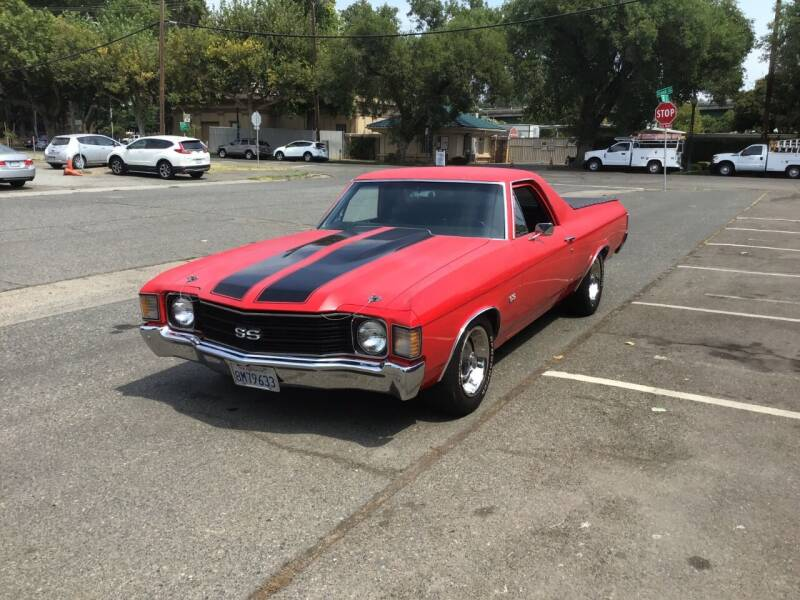 1972 Chevrolet El Camino for sale at California Automobile Museum in Sacramento CA