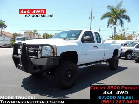2011 Chevrolet Silverado 3500HD for sale at Town Cars Auto Sales in West Palm Beach FL