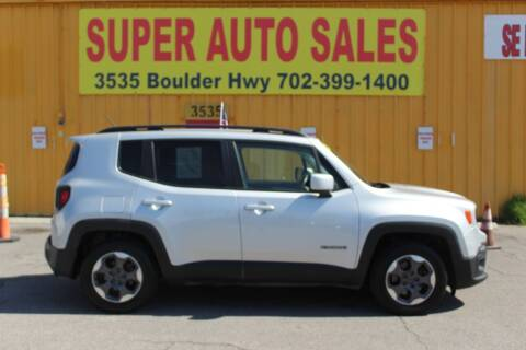 2015 Jeep Renegade for sale at Super Auto Sales in Las Vegas NV