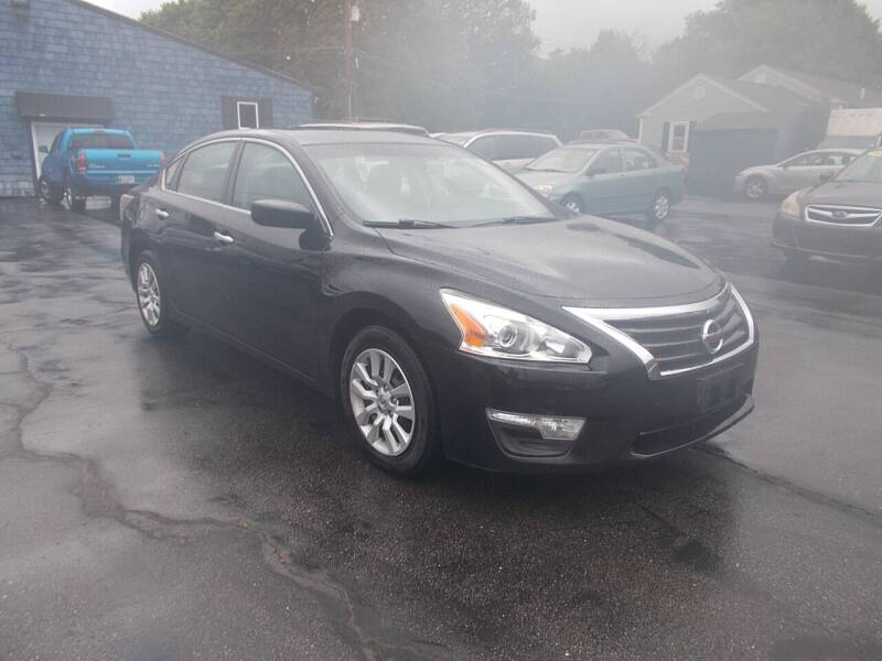 2015 Nissan Altima for sale at MATTESON MOTORS in Raynham MA