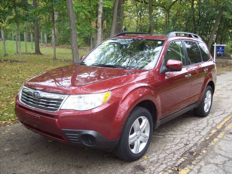 2010 Subaru Forester for sale at Edgewater of Mundelein Inc in Wauconda IL