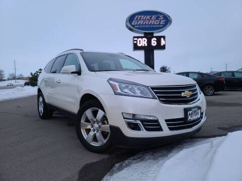 2015 Chevrolet Traverse for sale at Monkey Motors in Faribault MN