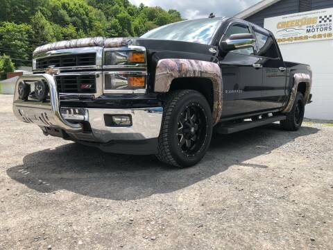 2014 Chevrolet Silverado 1500 for sale at Creekside PreOwned Motors LLC in Morgantown WV