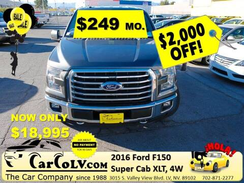 2016 Ford F-150 for sale at The Car Company in Las Vegas NV