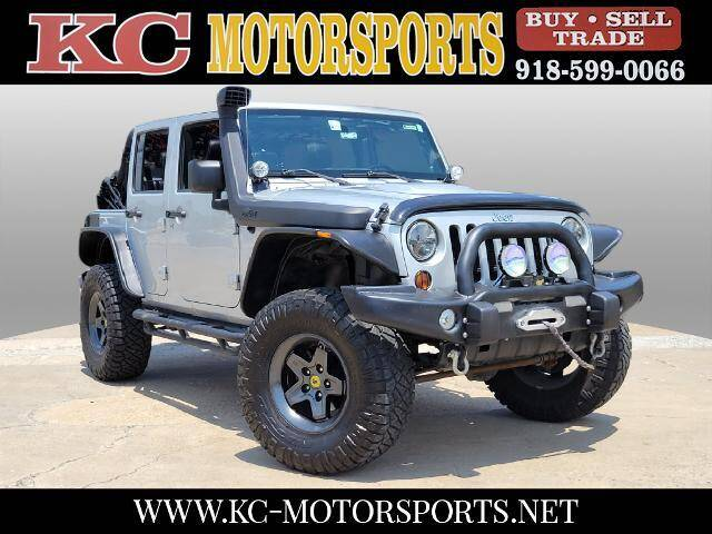 2012 Jeep Wrangler Unlimited for sale at KC MOTORSPORTS in Tulsa OK