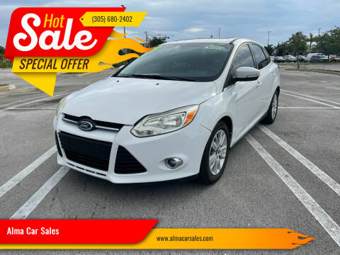 2012 Ford Focus for sale at Alma Car Sales in Miami FL