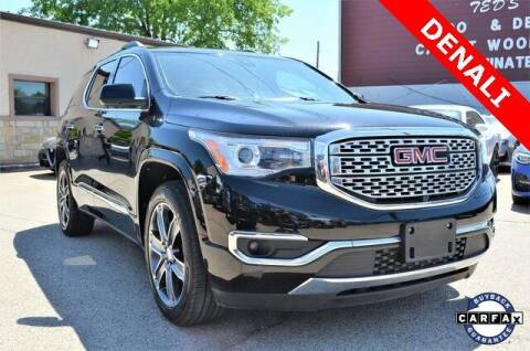 2017 GMC Acadia for sale at LAKESIDE MOTORS, INC. in Sachse TX