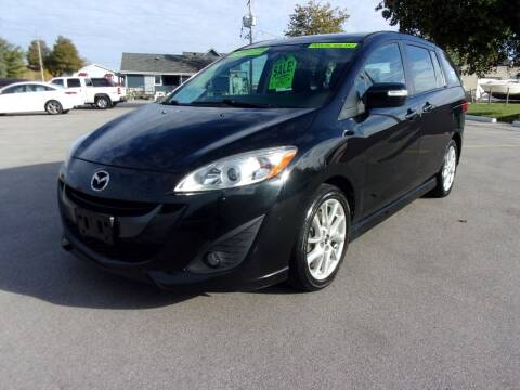 2013 Mazda MAZDA5 for sale at Ideal Auto Sales, Inc. in Waukesha WI