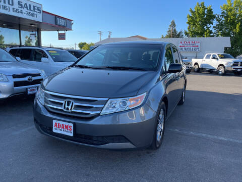 2012 Honda Odyssey for sale at Adams Auto Sales in Sacramento CA