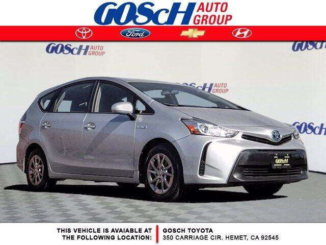 2017 Toyota Prius v for sale at BILLY D SELLS CARS! in Temecula CA
