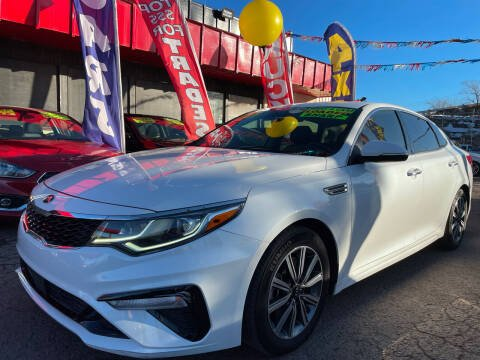 2019 Kia Optima for sale at Duke City Auto LLC in Gallup NM