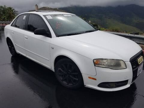 2008 Audi A4 for sale at Trini-D Auto Sales Center in San Diego CA