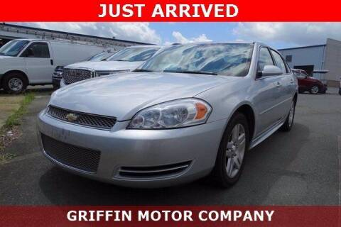 2012 Chevrolet Impala for sale at Griffin Buick GMC in Monroe NC