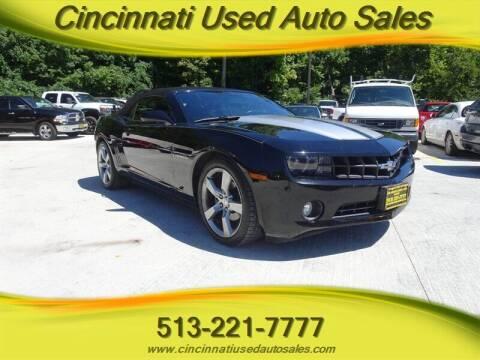 2012 Chevrolet Camaro for sale at Cincinnati Used Auto Sales in Cincinnati OH
