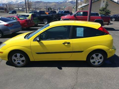 2003 Ford Focus for sale at Freds Auto Sales LLC in Carson City NV