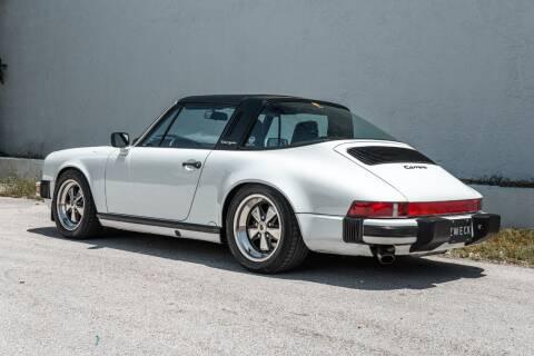 1987 Porsche 911 Carrera for sale at ZWECK in Miami FL