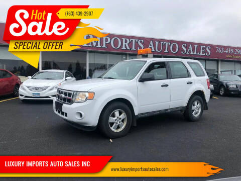 2010 Ford Escape for sale at LUXURY IMPORTS AUTO SALES INC in North Branch MN