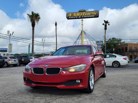 2015 BMW 3 Series for sale at A MOTORS SALES AND FINANCE - 6226 San Pedro Lot in San Antonio TX