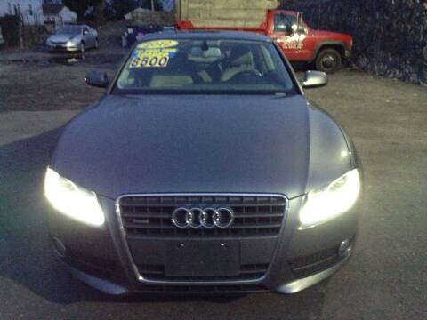2012 Audi A5 for sale at Worldwide Auto Sales in Fall River MA