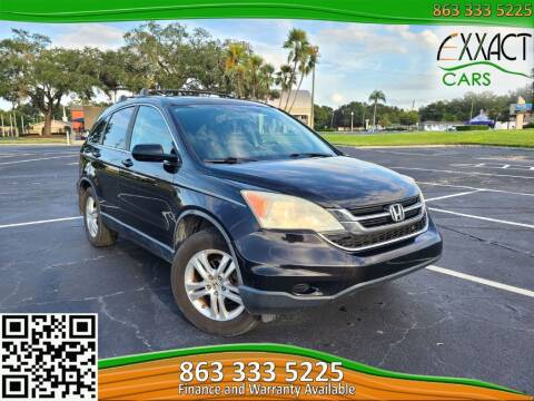 2010 Honda CR-V for sale at Exxact Cars in Lakeland FL