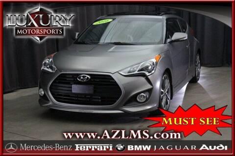 2016 Hyundai Veloster for sale at Luxury Motorsports in Phoenix AZ