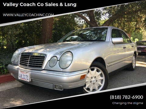 1999 Mercedes-Benz E-Class for sale at Valley Coach Co Sales & Lsng in Van Nuys CA