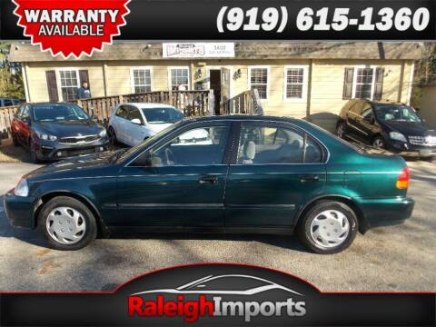 1997 Honda Civic for sale at Raleigh Imports in Raleigh NC