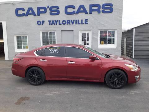 2014 Nissan Altima for sale at Caps Cars Of Taylorville in Taylorville IL