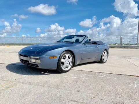 1990 Porsche 944 for sale at Vintage Point Corp in Miami FL