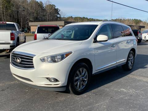 2013 Infiniti JX35 for sale at Luxury Auto Innovations in Flowery Branch GA