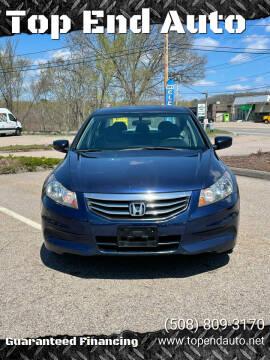 2011 Honda Accord for sale at Top End Auto in North Atteboro MA