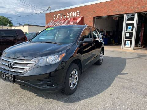 2014 Honda CR-V for sale at Cote & Sons Automotive Ctr in Lawrence MA