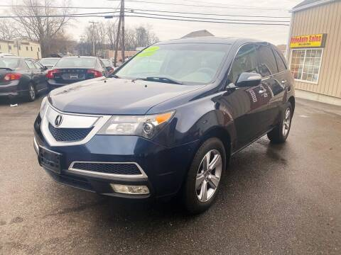 2011 Acura MDX for sale at Dijie Auto Sale and Service Co. in Johnston RI