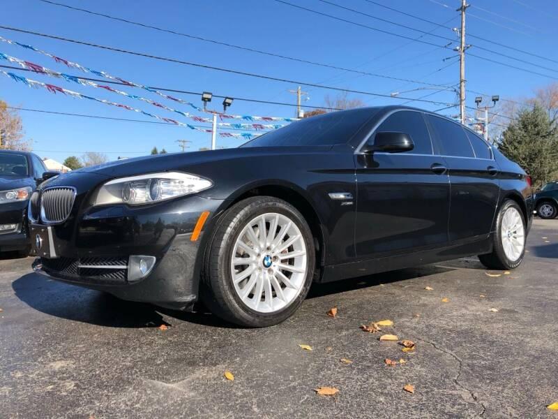 2011 BMW 5 Series for sale at WOLF'S ELITE AUTOS in Wilmington DE