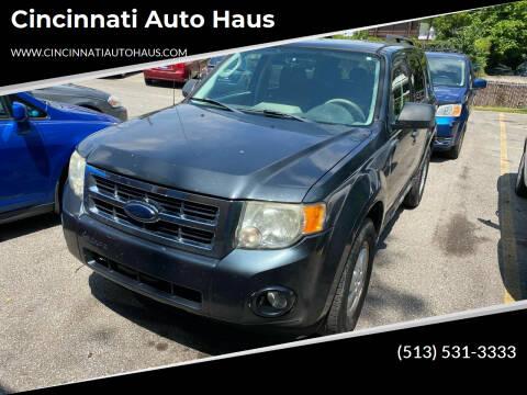2009 Ford Escape for sale at Cincinnati Auto Haus in Cincinnati OH